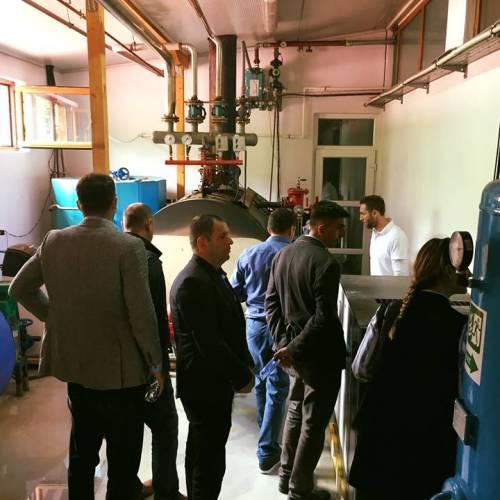 CEED Kosova viziton fabrikën tonë